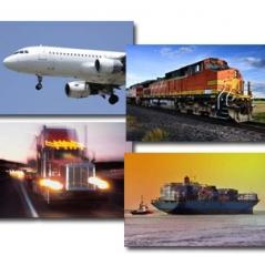 We organize transportations by all means of