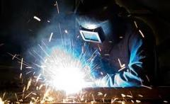 Electro-gas welding works