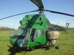 Услуги авиации в сельском хозяйстве, Днепропетровск