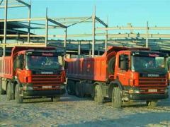 Услуги самосвала Scania P 124