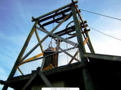 Researches under construction, geophysical surveys