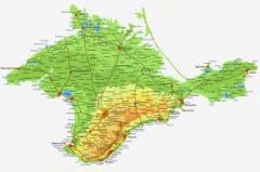 Inzhenerno geological researches in the Crimea