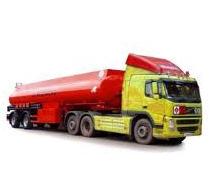 Transportation of liquid freights by fuel trucks.