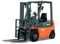 Rent of loader, rent of auto-loader fork, loader