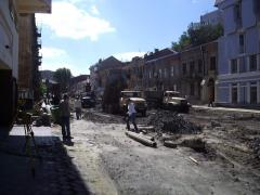 Reconstruction of roads, repair, new construction