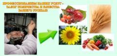 Комплексный агрохимический анализ (агрохимическая лаборатория)