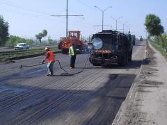 Construction of roads, repair, reconstruction