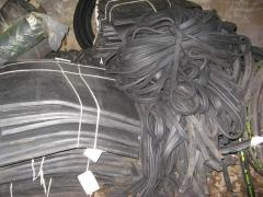 Utilization of industrial rubber products