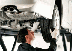 Inspection of automobiles