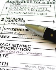 Registration of declarations on goods