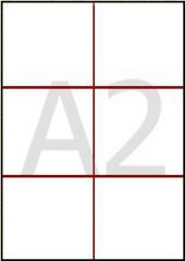 Изготовление наружной рекламы А2 60 × 42*