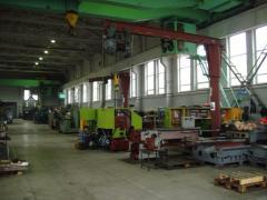 Capital repairs of machines