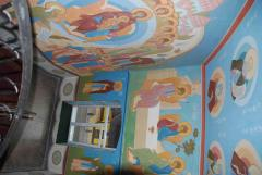 Роспись почаевского храма, роспись храма, роспись православного храма, иконопись, роспись храма на заказ, иконопись недорого.