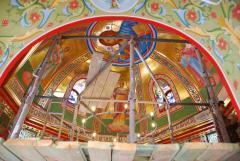 Роспись храма в Харькове, роспись храма, роспись православного храма, иконопись, роспись храма на заказ, иконопись недорого.