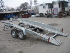 Hire of trailers to 3,5 t.