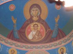 Роспись стен церкви оформление, иконопись.