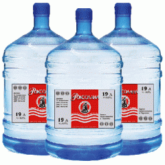 Доставка питьевой воды ТМ Роксолана 18,9 л.