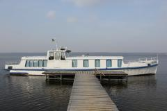 Rest by motor ship on the Dnieper River