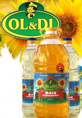 Sunflower oil wholesale from the producer