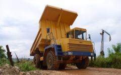 Rent sale of service of the dump truck BelAZ 7540
