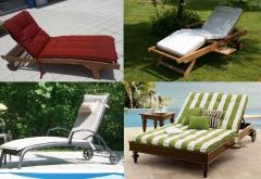 Beach mattresses for plank beds and chaise lounges