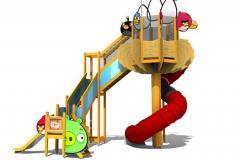 Проектирование и производство детских аттракционов