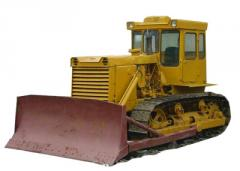Rent sale of service of the bulldozer