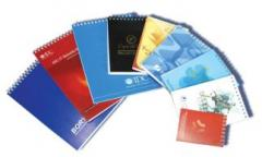 Production of notebooks