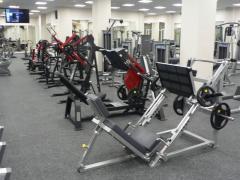 Service in transportation, transportation of a gym