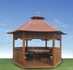 Изготовление деревянных беседок , арок, детских