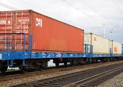 Cargo transportation is railway. Guarantor, state
