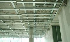 Installation of plasterboard designs