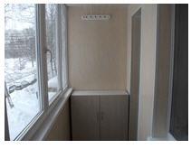 Внутренний ремонт балконов и лоджий в г. Краматорск