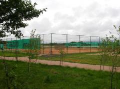 Строительство и освещение спортплощадок, теннисных