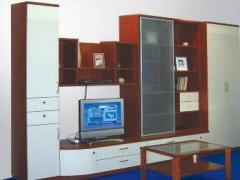 Installation of cabinet furniture