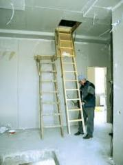 Потолочные работы,  отделка стен, отделка...
