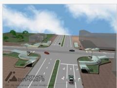 Проектирование автодорог. Институт Луганскгипрошахт