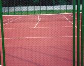 Complex of works on the device of tennis courts.