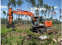 Hire of excavators and loaders