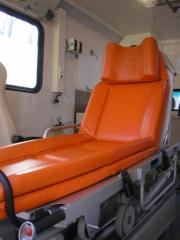 To transport the patient from Donetsk
