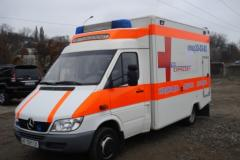 To transport the patient across Ukraine