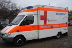 Resuscitation transportation of the patient,
