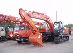 Services of construction special equipmen