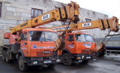 Автокран КТА-25, КТА-28 в аренду Донецкая область