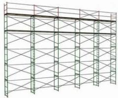 Rent of bricklayer's scaffold