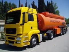 Перевозки наливных и газообразных грузов