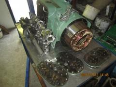 Capital repairs of the refrigerating compressor