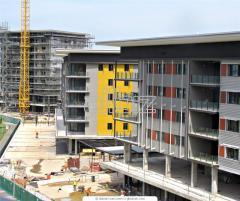 Строительство многоэтажных жилых домов