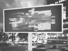 Design of outdoor advertizing, in Kiev (Kiev,