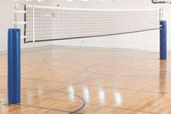 Construction of volleyball courts